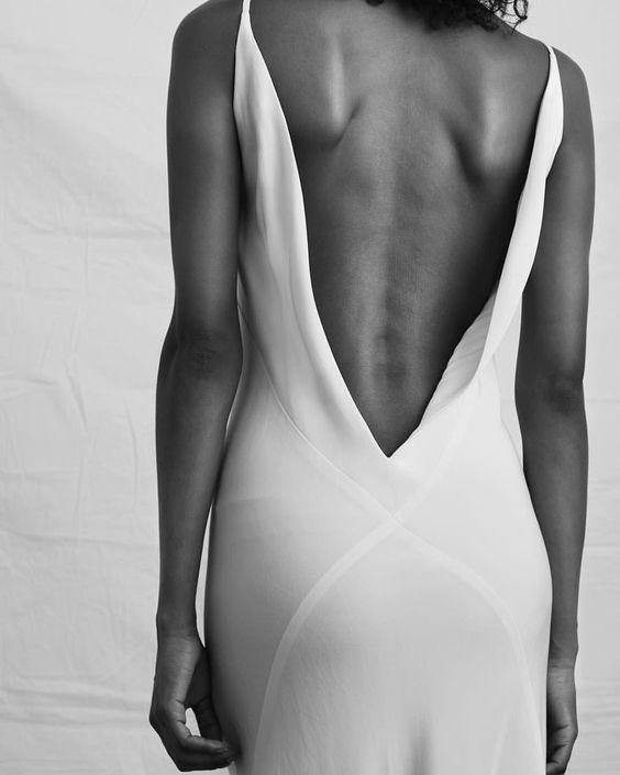 a la robe slip dress