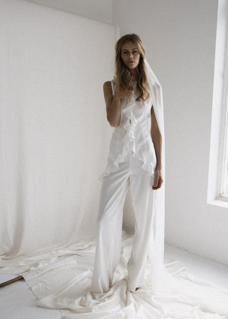 bridal jumpsuit bo & luca