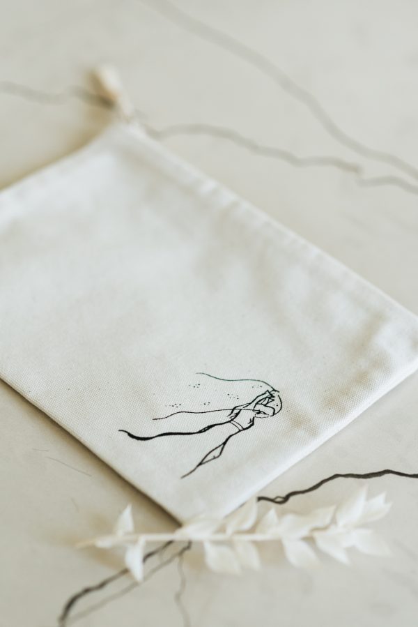 bridal make-up bag
