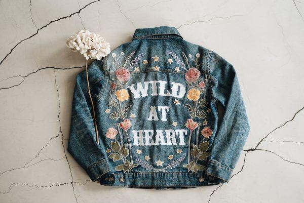 wild at heart denim jasje