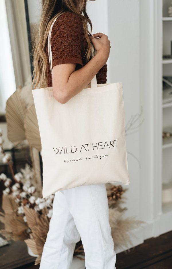 tote bag wild at heart